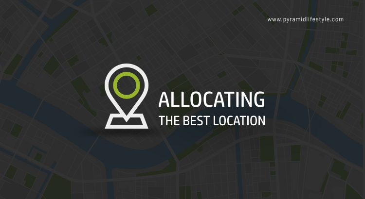 Allocating the best location