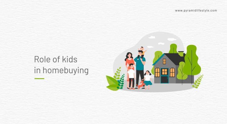 Role of kids in homebuying