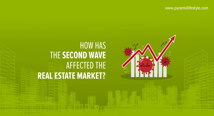 How has the second wave affected the Real-Estate market?